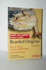 Bearded Dragons Pogona Manual Reptile and Amphibian Guide Barron's ENG KJ1 56498