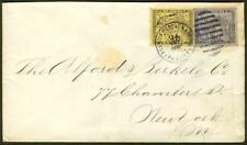Panama 1890 cover/10c & 20c/AGENCIA POSTAL/triple rate