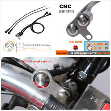 Motorcycle Handlebar Switch Adjustable Mount Horn Engine Start Kill Dual Button