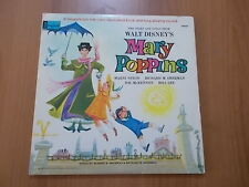 "12"" WALT DISNEY - MARY POPPINS stampa U.S.A. 1964 con booklet"