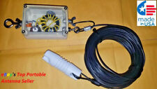 HF End Fed Dipole EFHW-8010 200W 80-10m / NO TUNER NEEDED!! / 130 ft long