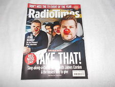 Radio Times Magazine 18th March 2017 James Corden Take That Comic Relief