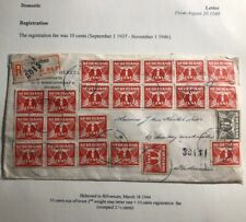 1944 Helmond Netherlands Registered Cover To Hilversum Was Deal