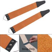 Professional Barber Leather Strop Straight Razor Sharpening Shaving Strap