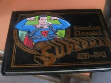 1998 SUPERMAN: THE SUNDAY CLASSICS 1939-1943 Easton 1st Siegel Shuster