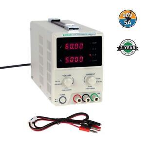 KORAD KD6005D - Precision Variable Adjustable 60V, 5A  DC Linear Power Supply...