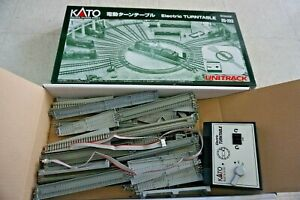 Kato N scale 20-283 UNITRACK Electric Turntable From Japan Missing Parts