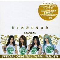 SCANDAL STANDARD CD+Member Print Original T-shirt Limited Edition YM JAPAN