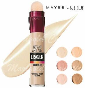 NEW Maybelline Instant ANTI-AGE Eraser Concealer FULL COVERAGE Under Eye #