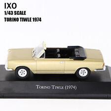 1/43 IXO TORINO TIWLE (1974) Diecast Car Model Rare Collection
