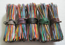 BUTTON WIRES: 5 packs of 200 ea. (1000) for vintage/antique metal glass buttons