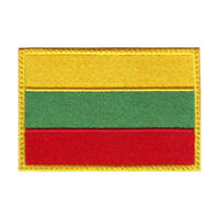 Lithuania Flag Embroidered Patch