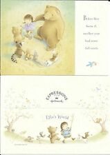 Ellie's World Happy Birthday Circle of Animal Friends Hallmark Greeting Card