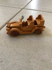 Hand made wood car/carriage from Nicaragua-Possible Xmas Ornament
