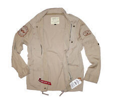 Alpha Industries giacca Arlington NG di transizione giacca Giacca campo TG 2xl Beige [k22]