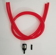 Goped Gas Fuel Lines Filter Return Fitting Go-ped 12in Kit Sport RED