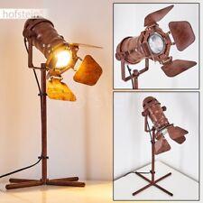 Lampadaire Lampe de sol Lampe sur pied Retro Éclairage de salon Luminaire Métal