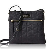 NWT KATE SPADE WILSON ROAD QUILTED CROSSBODY BAG BLACK PURSE $199