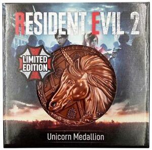 Resident Evil Medallion - Unicorn Metal Replica Official New
