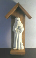 Protector of Animals-Saint Francis Indoor/Outdoor hanging plaque-Patron St.