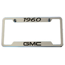 1960 Classic - GMC Chrome License Plate Frame CUSTOM - USA MADE Truck C10 K10