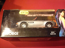 CORGI  BMW Z8 ' THE WORLD IS NOT ENOUGH'  - J. BOND