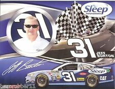 "2013 JEFF BURTON ""SLEEP INNOVATIONS"" RCR #31 NASCAR SPRINT CUP SERIES POSTCARD"