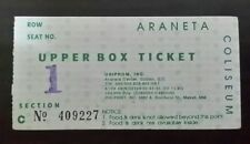 Bon Jovi Concert Ticket used dated April 30 1995 Araneta Coliseum
