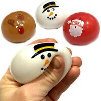 XMAS SPLAT BALL BOYS GIRLS REINDEER SANTA SNOWMAN TOY CHRISTMAS STOCKING FILLER