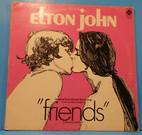 ELTON JOHN FRIENDS SOUNDTRACK VINYL LP 1971 ORIGINAL GREAT CONDITION! VG+/VG+!!B