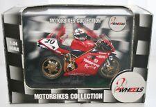 Doriano Romboni Ducati 996 with Helmet 1:24 2 Wheels