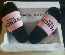 Women's Givenchy Logo Slides Rubber-Flip Flops/Sandals/Slippers - Size EU40