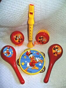 Disney Mickey Mouse Clubhouse Friends 6 Piece Party Musical Instruments Set