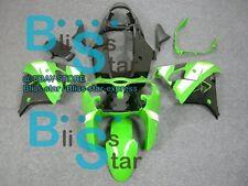 Green ABS Fairing Bodywork Plastic Kit Kawasaki Ninja ZX9R 1998-1999 10 D6