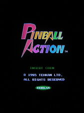 PINBALL ACTION - TEHKAN - TECFRI / ORIGINAL WORK / ARCADE JAMMA PCB  **  585