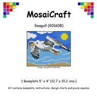 MosaiCraft Pixel Craft Mosaic Art Kit /'Snowman and Brush/' Pixelhobby