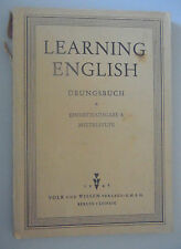 Learning English-unité édition a cycle moyen 1946