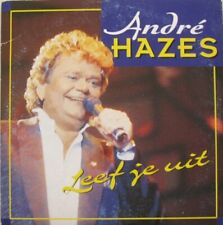 ANDRE HAZES - LEEF JE UIT  - CD-SINGLE - cardboard