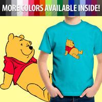 Disney Winnie the Pooh Bear Classic Cartoon Movie Toddler Kids Tee Youth T-Shirt