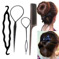 Fashion 4 X Hair Twist Styling Clip Stick Bun Maker Braid Tool Hair Accessories