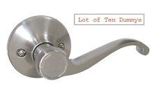 Lot of 10 Dummy Satin Nickel Lever Handle Door Lock lockset 835DC free shipping