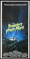 INVADERS FROM MARS Original Daybill Movie poster UFO Alien attack Tobe Hooper
