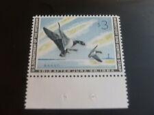 Mint Nh Federal Duck Stamp Scott # Rw30