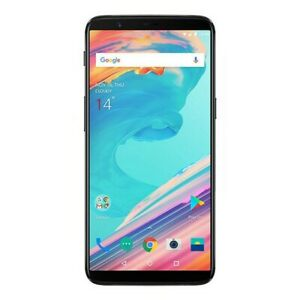 OnePlus 5T, AT&T Only | Black, 128 GB, 6.01 in | Grade B-, Screen Shadow | A5010