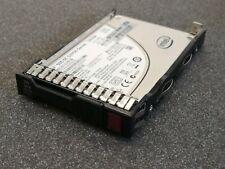 """HP 692164-001 100GB SATA SSD 2.5"""" 691842-001 in G8 caddy"""