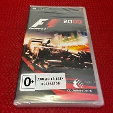 F1 Formula 2009 Sony PSP Racing Game English First Print Brand NEW SEALED
