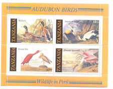 Tanzanian Sheet Animal Kingdom Postal Stamps