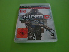 SNIPER: Ghost Warrior 2 -- LIMITED EDITION (SONY PLAYSTATION 3, 2013, DVD-BOX)