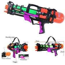 "23"" LARGE WATER GUN PUMP BLASTER BATTLE ACTION SUPER SOAKER SPRAYER OUTDOOR BEAC"
