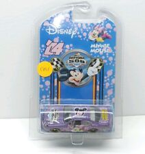2004 Disney Daytona 500 1:64 Brand New Minnie Mouse, purple car